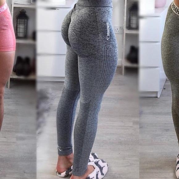 d5431aa0baa620 Gymshark Ombre Leggings Xs images. Gymshark Pants | Nwot Ombr Grey Seamless  Xs | Poshmark